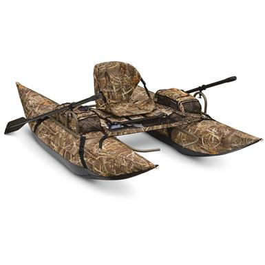 Classic Accessories The Arrow Hunter 8' Pontoon Boat, Max-4 Camo / Olive Drab