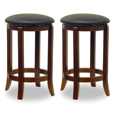 "Winsome 24"" Swivel Counter Stools (Set of 2)"
