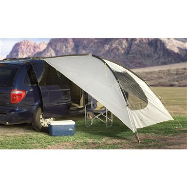 Texsport® Spinnaker Vehicle Shelter, Silver-tone / Black