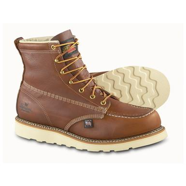 Men's Thorogood® Moc Toe Wedge Work Boots