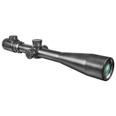 Barska 10-40x50 mm IR Extreme Tactical Rifle Scope with Rings