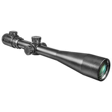 Barska® 6-24x44 mm IR Extreme Tactical Rifle Scope with Rings