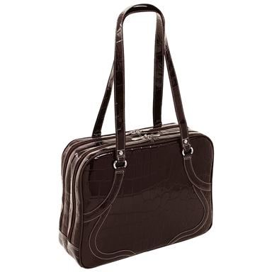 Women's Siamod® Roma Leather Laptop Tote
