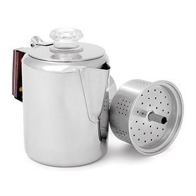 GSI Outdoors Stainless Steel Percolator