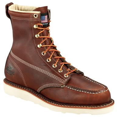 "Men's Thorogood® 8"" Moc Toe Wedge Boots"