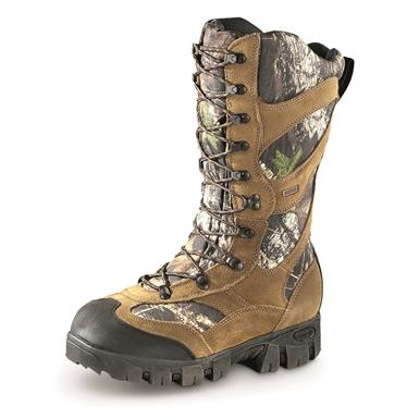 Guide Gear Giant Timber II Men's 1,400 Gram Insulated Waterproof Hunting Boots, Mossy Oak Break-Up Country, Mossy Oak®