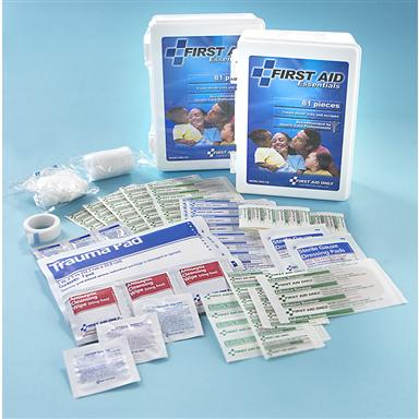 2-Pk. First Aid Only® 81-Pc. First Aid Kit