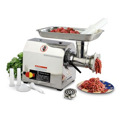 Professional Stainless Steel 1-hp Meat Grinder