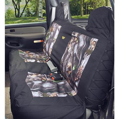 SaddlemanR Next Bench Seat Cover Camo