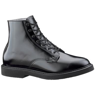 "Bates® 6"" Leather Lace-Up Chukka - Dress Combat Boots"
