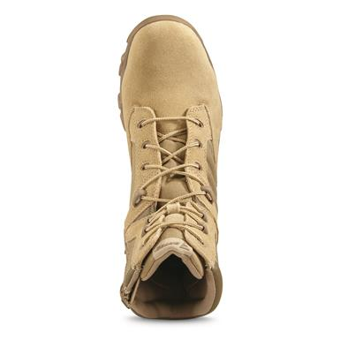 Bates Men's GX-8 Composite Toe Side-Zip Combat Boots, Tan