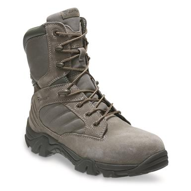 Bates Men's GX-8 Composite Toe Side-Zip Combat Boots, Sage Green
