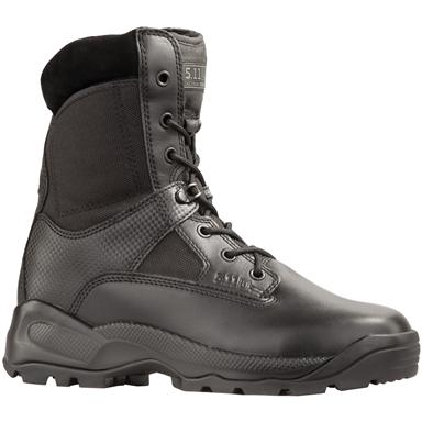 "Men's 5.11 Tactical® 8"" ATAC Waterproof Side-zip Storm Boots"