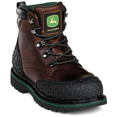 Men's John Deere® Safety Toe Lace-Up Work Boots