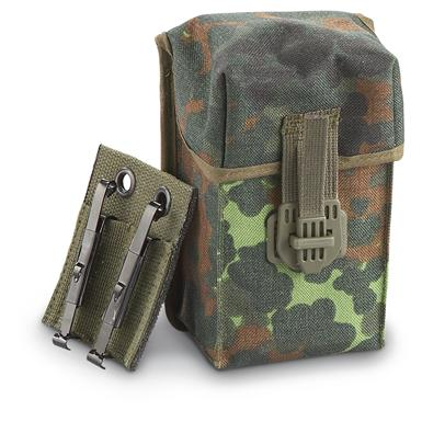 3 Used German Military G3 Mag Pouches
