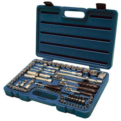 "99-Pc. Industro® 1/4"", 1/2"", and 3/8"" Drive Combo Socket Set"