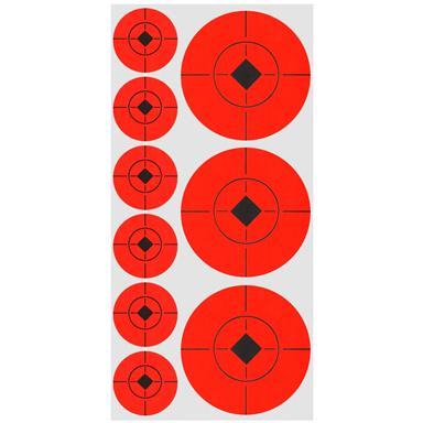"1"" and 2"" Target Spots®, 36 targets (2"") and 72 targets (1"")"