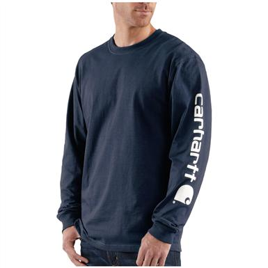 Carhartt® Long Sleeve T-Shirt, Navy