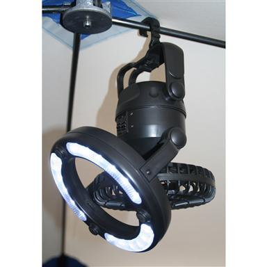 Clam Multi Direction Fan / LED Light