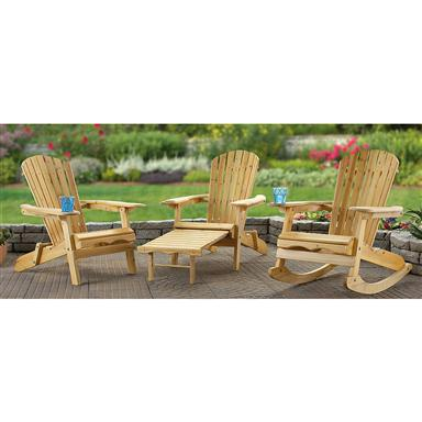 Adirondack Chairs or Rocking Chair