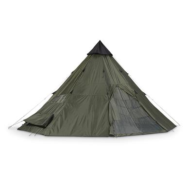 Guide Gear Teepee Tent, 18 foot x 18 foot