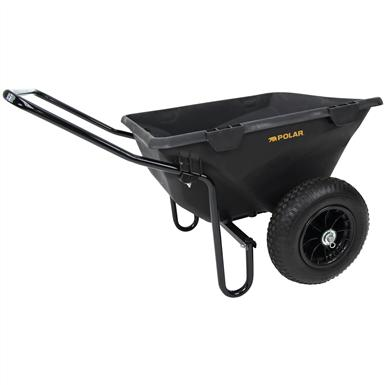 Polar Trailer 7 Cubic Feet Heavy-Duty Cub Cart