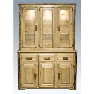 Montana Woodworks® Glacier Country China Hutch