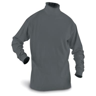 Guide Gear Men's Turtleneck Long-Sleeve Shirt, Charcoal