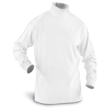 Guide Gear Men's Turtleneck Long-Sleeve Shirt, White