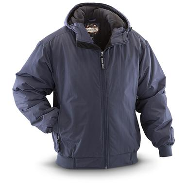 Guide Gear Men's Hooded Cascade Jacket, Navy