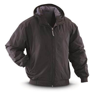 Guide Gear Men's Hooded Cascade Jacket, Black