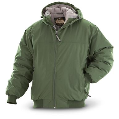 Guide Gear Men's Hooded Cascade Jacket, Sage
