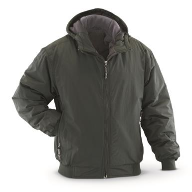 Guide Gear Men's Hooded Cascade Jacket, Dark Spruce