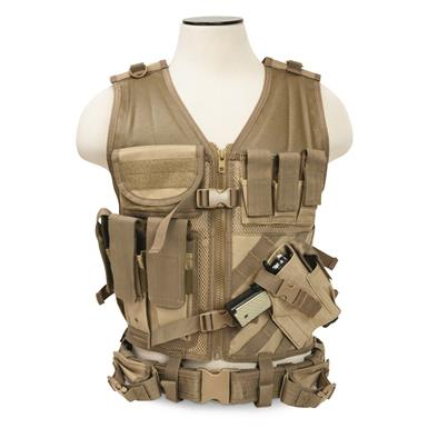 NcSTAR Tactical Vest, Tan