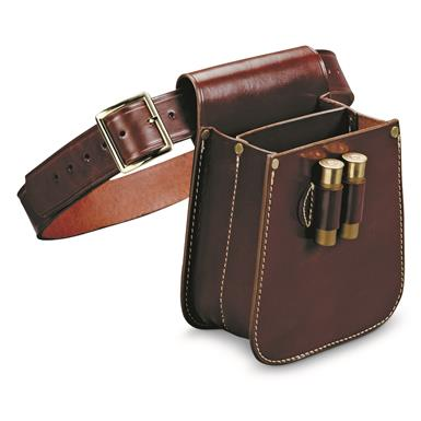 Triple-K MFG. Deluxe Divided Shot Shell Bag, Havana Brown, Havana Brown