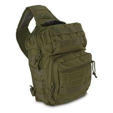 Red Rock Outdoor Gear Rover Sling Bag, Olive Drab