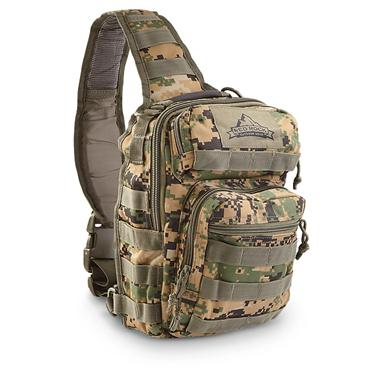 Red Rock Outdoor Gear Rover Sling Bag, Army Digital