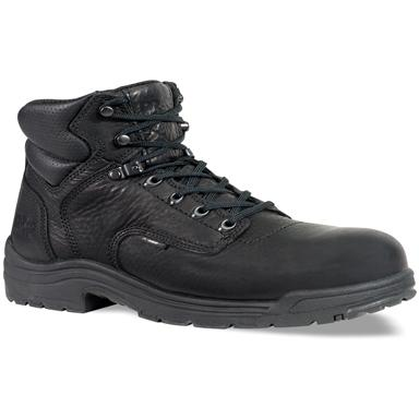 Men's Timberland® Pro® 6 inch Titan® Safety Toe Boots, Black