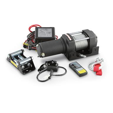 Grip-on Tools Electric ATV Winch, 3000-lb.