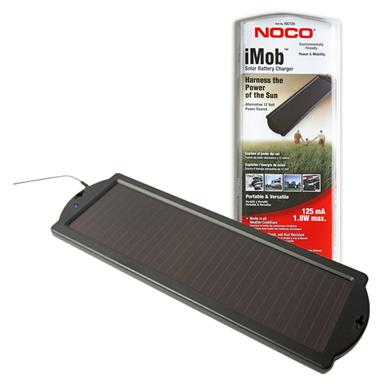 NOCO® 1.8W 125mA iMob™ Solar Battery Charger