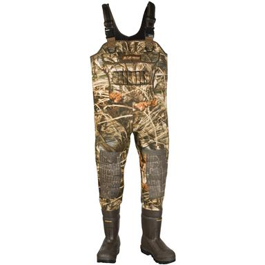 Men's LaCrosse® Brush-Tuff™ Extreme ATS™ Insulated Max-4 HD® 1,600 - gram Thinsulate™ Ultra Insulation Chest Waders