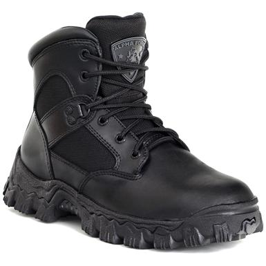 Men's Rocky® 6 inch AlphaForce Waterproof Composite Toe Duty Combat Boots