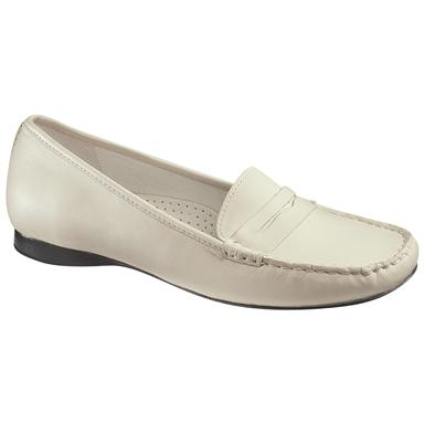 Women's Sebago™ Hanover Classic Leather Shoes, Off White