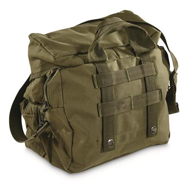 Integral MOLLE-compatible straps on the back, Olive Drab