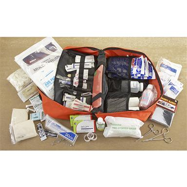 Everything you need to treat minor injuries is in the bag