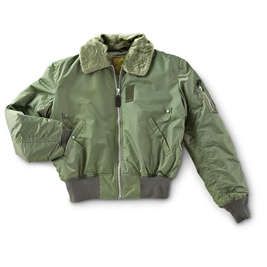 Military-spec B15 Bomber Jacket, Sage