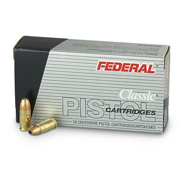 Federal, 9mm Luger, JHP, 115 Grain, 500 Rounds