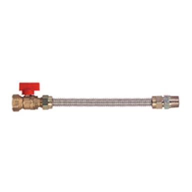 Dormont® 30 inch Flexible Gas Connector with Valves