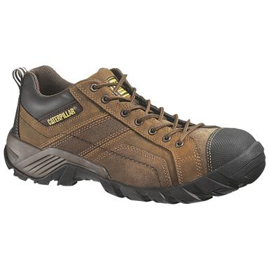 Men's CAT® Argon Work Shoes, Dark Brown