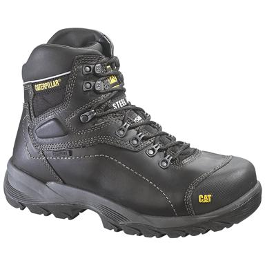 Men's Caterpillar® Diagnostic Hi Waterproof Steel Toe Work Boots